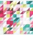 triangle geometric shapes pattern vector image vector image