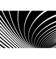 Twisting lines background vector image vector image