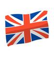 united kingdom flag great vector image
