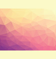 violet geometric background vector image