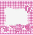baby pink vector image