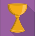 gold cup religion icon graphic vector image vector image