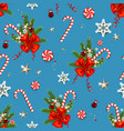 happy holiday pattern vector image