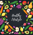 Healthy eating poster