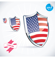 I Love USA Flag vector image vector image
