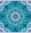 Seamless texture stained glass doodle pattern