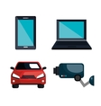 smart devices design vector image
