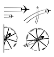 Transport aircrafts vector | Price: 1 Credit (USD $1)