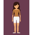 young woman icon image vector image