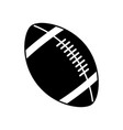 american football ball equipment sport image vector image vector image