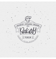 Bakery Handwritten inscription Hand drawn vector image