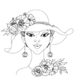 Beautiful fashion women vector image vector image