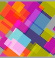 bright squaresabstract colorful background vector image vector image