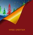 Christmas wish tree vector image