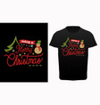 have a merry christmas typography t-shirt design vector image vector image
