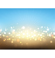 Summer lights background vector image vector image