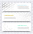 white 3d tile pattern background template