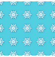 white paper cut snowflakes seamless pattern vector image vector image