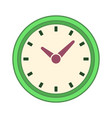clock time symbol vector image