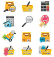 vector ecommerce icon set vector image vector image