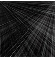 abstract monochrome background radial rays vector image