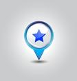 destination pins vector image vector image