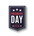Presidents day banner vector image vector image