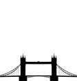 Tower Bridge vector image vector image