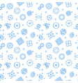 vr pattern virtual reality linear seamless vector image vector image
