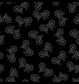 active lifestyle seamless pattern vector image