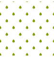 birch leaf pattern seamless vector image vector image