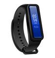 fitness bracelet device vector image
