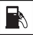 gasoline pump gas station icon design symbol vector image