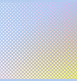 geometrical abstract gradient halftone dot vector image vector image