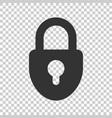 lock sign icon padlock locker business concept vector image vector image