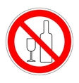 No drinking sign 304 vector image vector image