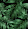 seamless foliage pattern7 vector image vector image