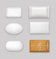 soap bars set vector image vector image