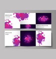 the black colored minimal layout modern vector image vector image