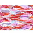 Wavy seamless pattern vector image vector image
