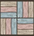 wood floor tiles pattern seamless texture wooden vector image vector image