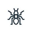 ant icon editable stroke linear symbol
