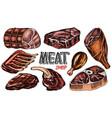 beef meat pork steak chicken leg meatloaf