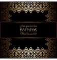 Invitation decorative 22 vector image vector image