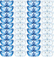 sapphires and diamonds leaves seamless texture vec vector image vector image