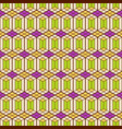 seamless color pattern of geometric shapes vector image vector image