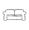 sketch sofa furniture comfort relax image vector image