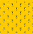 umbrella and rain pattern vector image vector image