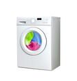 washing machine household electronic device vector image vector image