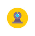web camera - concept colored icon in flat graphic vector image vector image